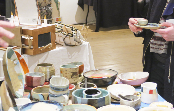 Geffrye Museum crafty fox fair stall