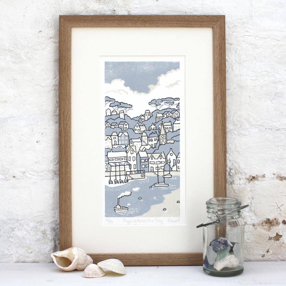 Fiona Carver, printmaker, linocut
