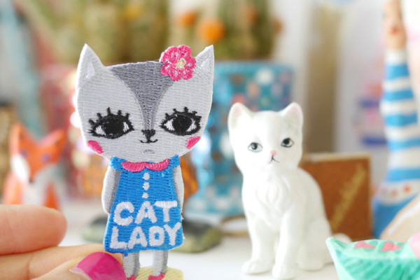 cat lady, Bels Art World, BelsArt, Belinda Chen, Bel Chen, illustrator,