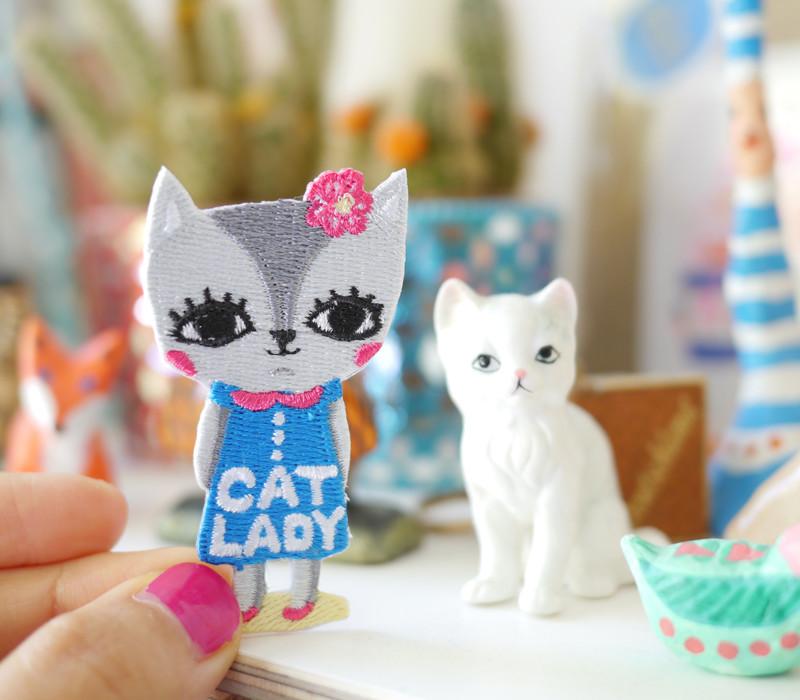 cat lady, Bels Art World, BelsArt, Belinda Chen, Bel Chen, illustrator,