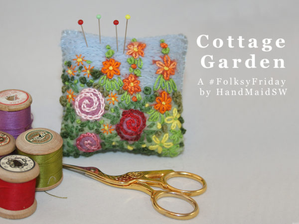 cottage garden folksyfriday,