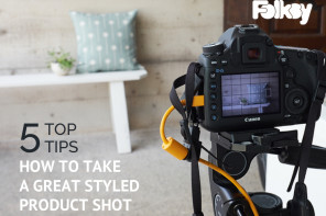 How to take great styled product shots – 5 top photography tips