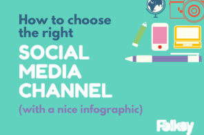 How to choose the right social media channel for you (with a nice infographic showing the pros and cons)