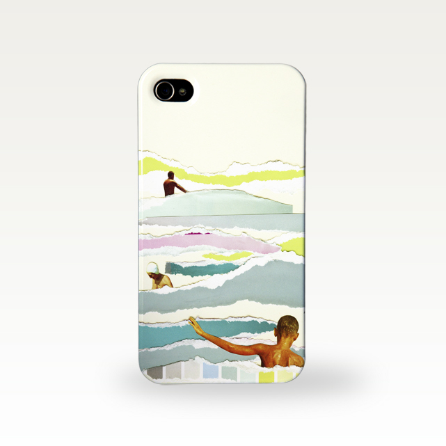 Beach Phone Case by Cassia Beck