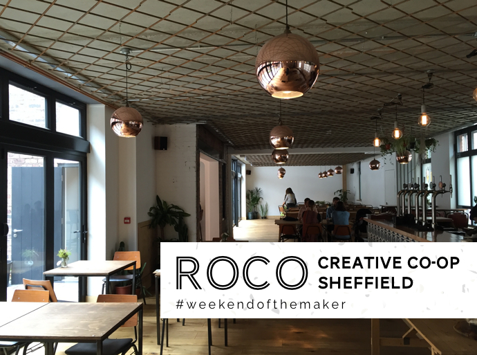 weekend of the maker, sheffield, roco, crafty fox market, christmas 2016