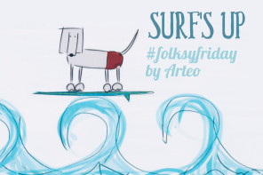 #folksyfriday – Surf's Up by Arteo