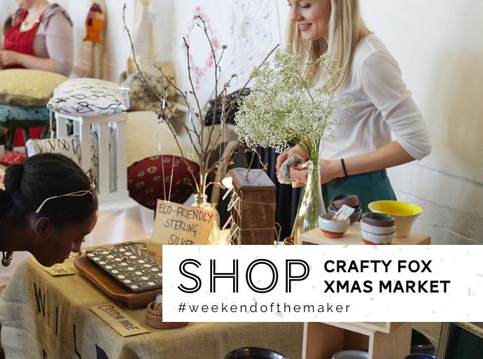 Crafty Fox Market, Christmas 2016, Folksy, Sheffield craft fair