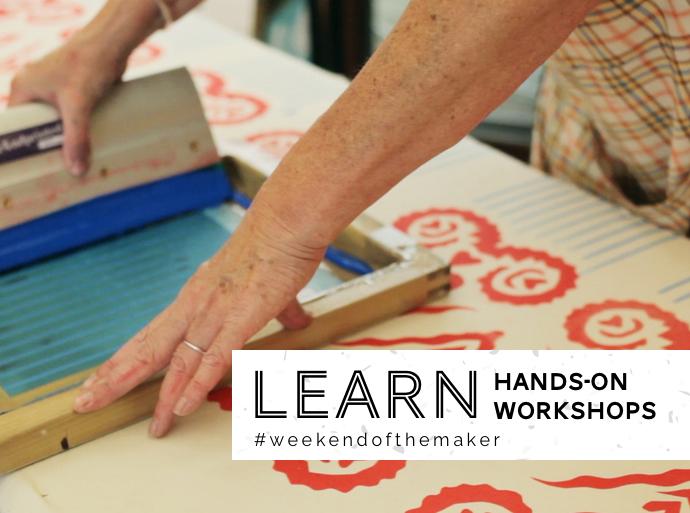 crafty fox workshops, folksy, weekend of the maker