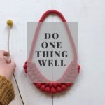 do one thing well, Peggy, beginner's guide to selling craft