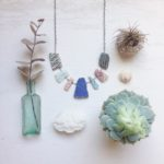 Sea glass necklace, Beach Shack Project, Instagram,