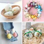 Easter gift ideas, handmade Easter egg decorations,