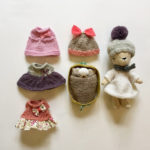 plushimoto, knitted bear, teddy bear wardrobe,