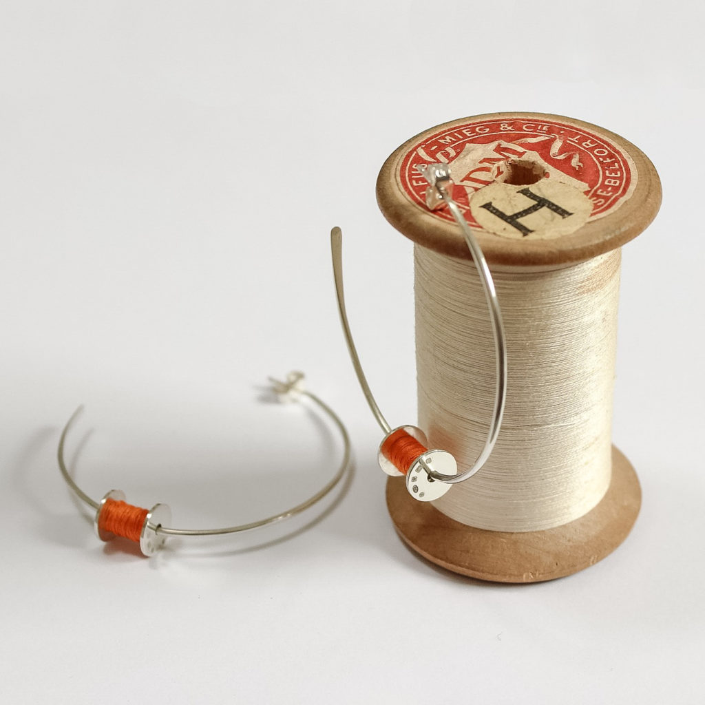 Joanna Wakefield Jewellery, Bobbin Earrings,