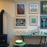 Sarah Young art, Brighton studio, Atelier 51