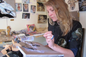 Emily Tull – the artist who paints with thread