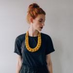 Beth pegler, macrame neck, rope necklaces, Stylist magazine,