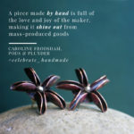 seed pod earrings, star anise earrings, Caroline Frodsham
