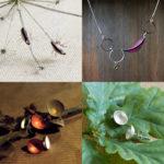 Seed pod jewellery, Caroline Frodsham