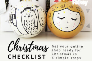 Christmas Checklist – get your shop ready for Christmas