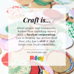 Catkin Boutique, craft is