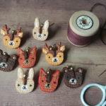 ear pets, earpets, animal jewellery, animal earrings,