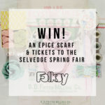 selvedge spring fair tickets, offer, giveaway,