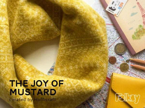 FolksyFriday, mustard finds, joy of mustard, Hofficraft
