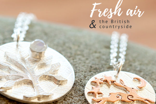 SilverHares Jewellery, Diane Lee, British Countryside, Jewellery