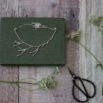 hedge parsley necklace, little red hen jewellery,