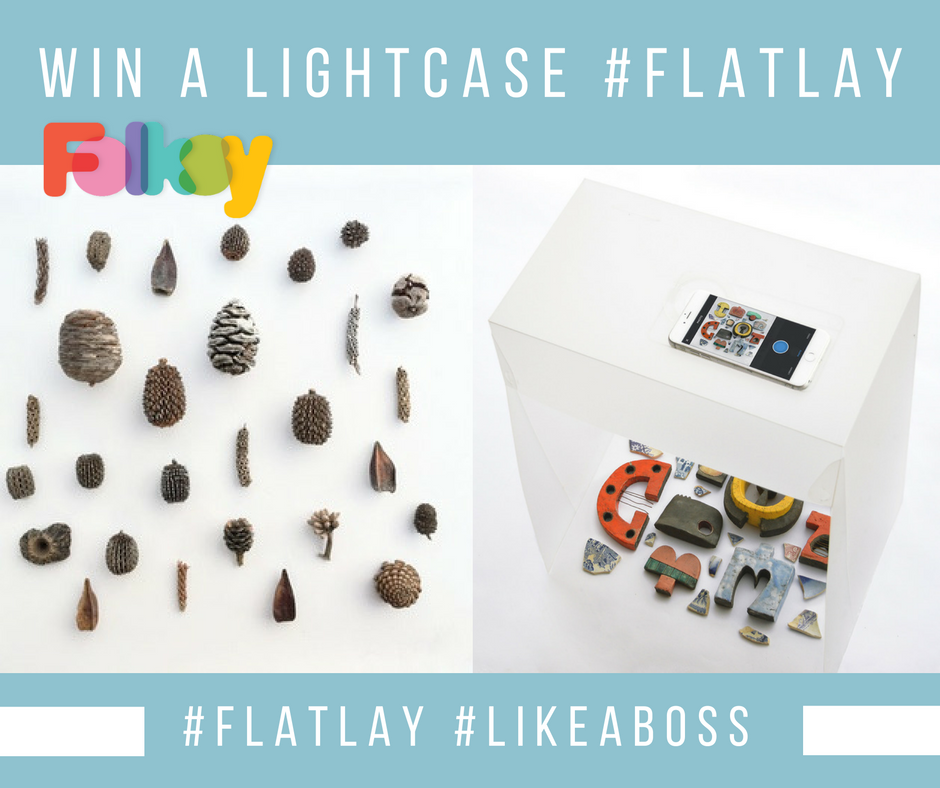 Win a Lightcase and #Flatlay like a boss!