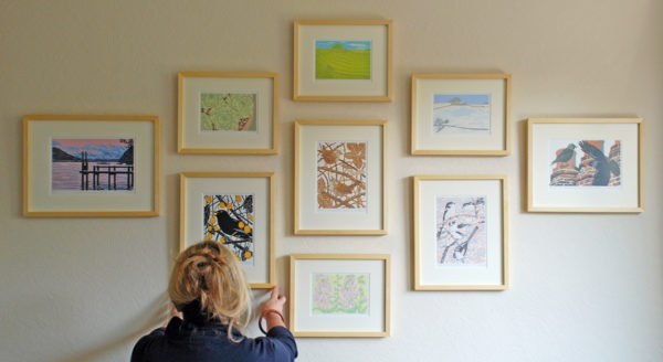 Little Ram Studio, printmakers, linoprint, lino, British wildlife artists,