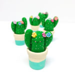 cactus decoration, cactus desk companion, hofficraft,