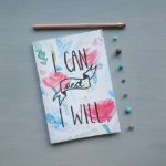 Rachel Seymour Design, I can and I will notebook, notebook