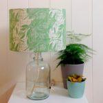 Eucalyptus Glass Bottle Table Lamp, hannah madden