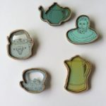 Katie Whittaker, teapots, teapot brooches
