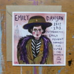 Emily Davison suffragette, votes for women, Trudi Murray,
