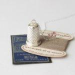 Joanna Wakefield Jewellery, Joanna Wakefield, thimble necklace,
