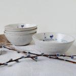 Mecki Allen, stoneware bowl,