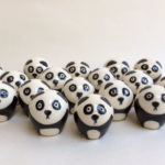 panda cubs, pottery, weebogles