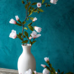 Lia Griffith giveaway, paper flowers magnolia,