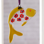 fused glass, fused glass fish decoration, granary glass, meet the maker interview,