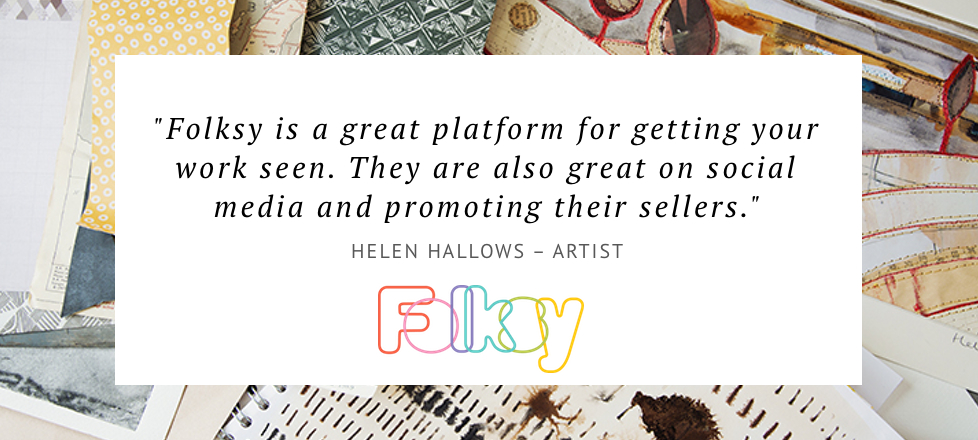 why sell on folksy, sell art online UK, where to sell art online UK
