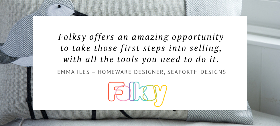 why sell on folksy, homeware