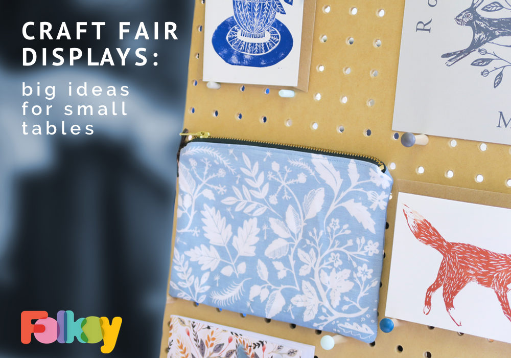 Craft Fair Ideas, big ideas for small tables, craft fair ideas