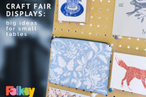 Craft fair inspiration – big ideas for small tables