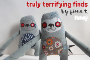 Truly terrifying – a #folksyfriday by Fiona T