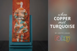 When Copper Met Turquoise – a #folksyfriday by Judith Logan
