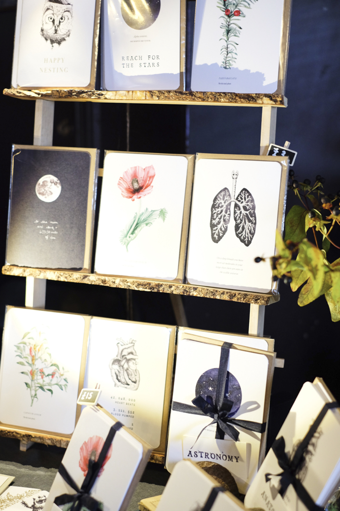 greeting card display, craft fair ideas