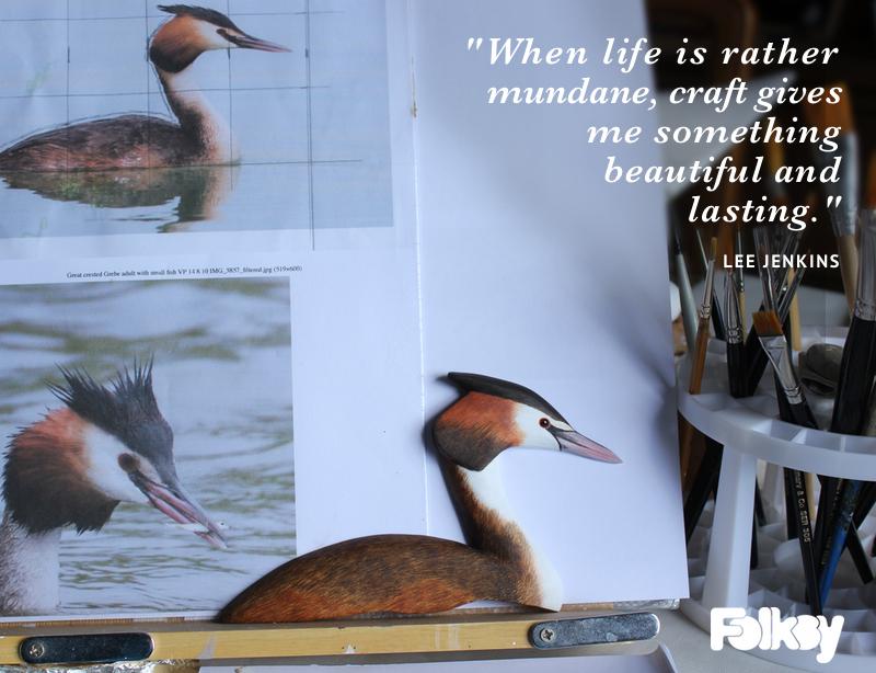 Lee Jenkins, Bird Carving, interview, carved birds