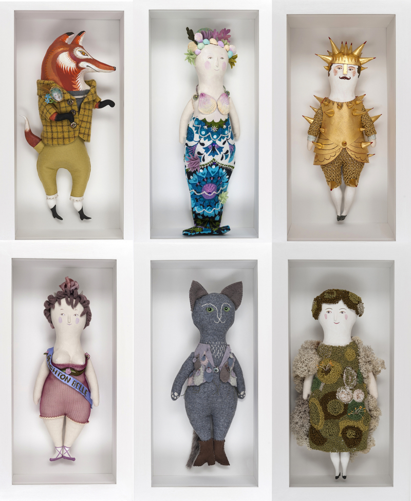 Sarah Young, dolls, puppet theatre,
